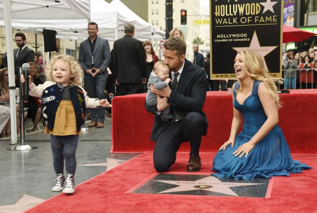 Vean a las hermosas hijas de Ryan Reynolds y Blake Lively!!