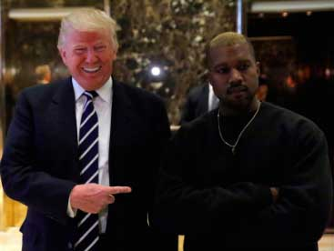 Kanye West se reúne con Trump - WHAT? LOL!