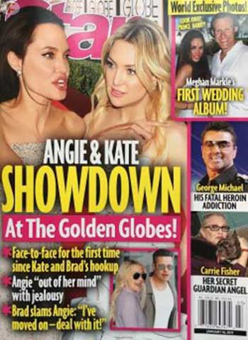 Angelina enfrenta a Kate en los Golden Globes [Star]