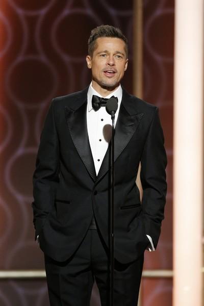 Brad Pitt evitó fiestas de Golden Globes