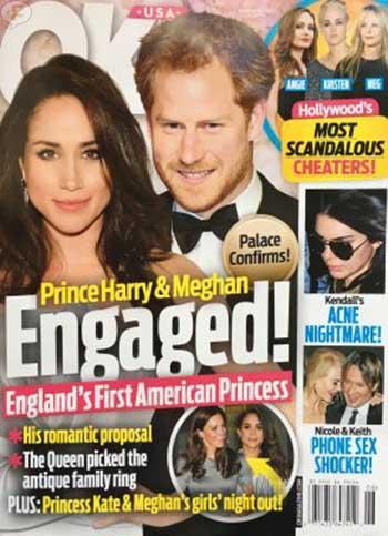 Príncipe Harry comprometido con Meghan Markle (OK!)