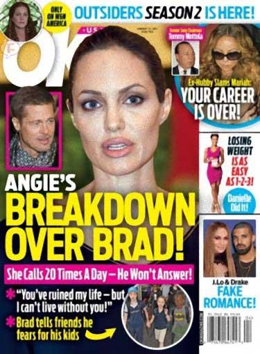 Angelina: Crisis por Brad! [OK!]