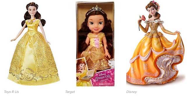 Muñeca de Bella (Bella y Bestia) igual a Justin Bieber?