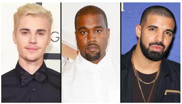 Bieber, Kanye y Drake no asistirán a los Grammy!