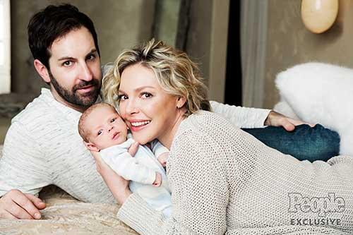 Katherine Heigl presenta a su hijo Joshua Bishop ...