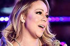 Mariah Carey hace el ridiculo en Año Nuevo