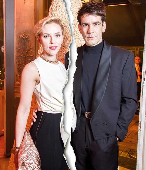 Scarlett Johansson se divorcia de Romain Duriac