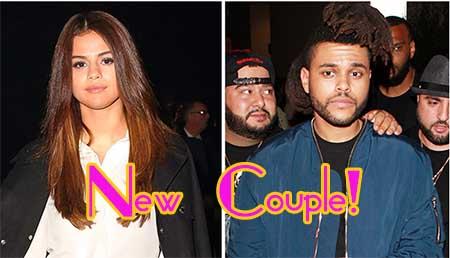 Selena Gomez y The Weeknd son novios!! WTF?
