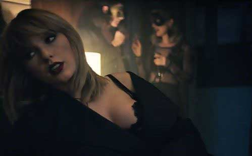 "Taylor Swift y Zayn Malik: video ""I Don't Wanna Live Forever"""