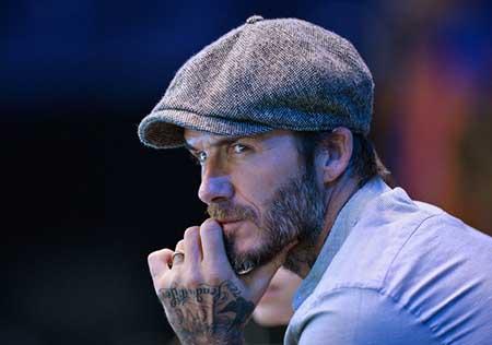 David Beckham Day Five Barclays ATP World