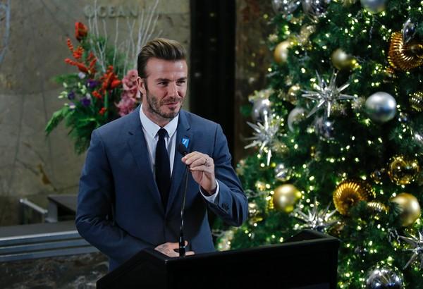 David Beckham Lights Empire