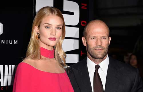 Rosie Huntington-Whiteley y Jason Statham serán padres!