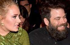 Adele ha estado casada desde hace tiempo?