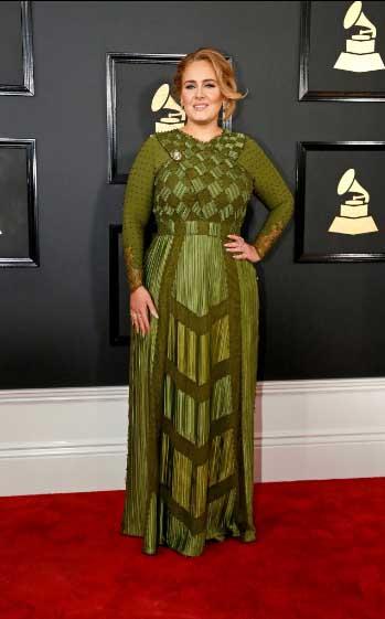 Alfombra Roja Grammys 2017