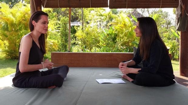 Angelina Jolie habla del divorcio de Brad