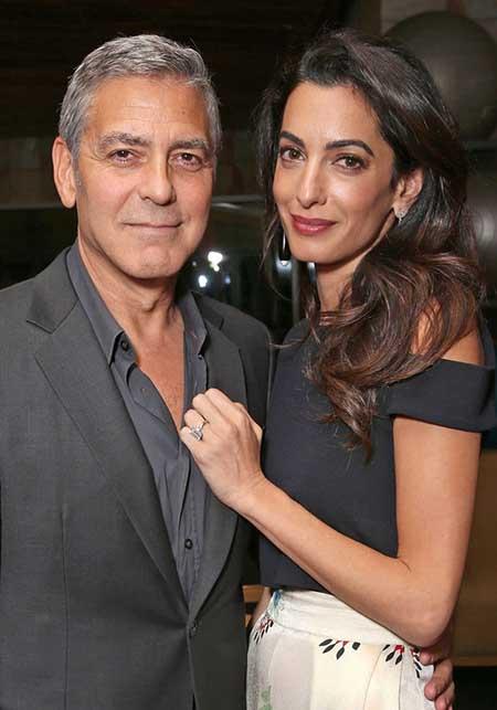 George y Amal Clooney esperan niño y niña! (Us)