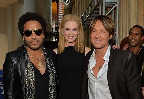 Nicole Kidman estuvo comprometida con Lenny Kravitz!