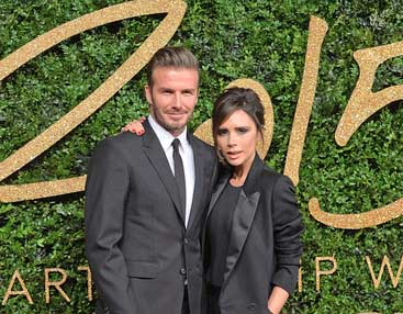 Los Beckhams renovaron sus votos matrimoniales