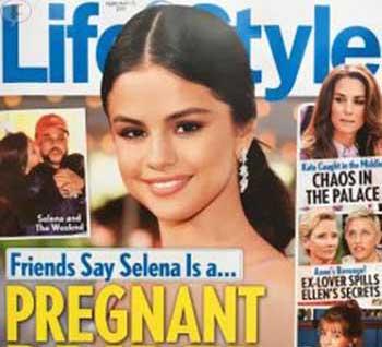 Selena Gomez novia embarazada, según amigos! (Life&Style)