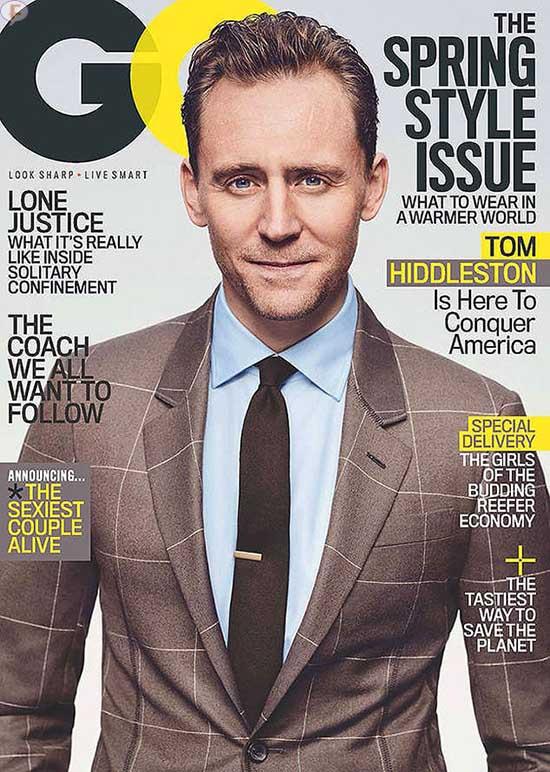 Tom Hiddleston habla de Taylor Swift - GQ