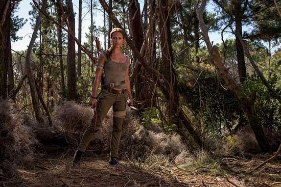 Alicia Vikander como Lara Croft en Tomb Raider - FOTOS!