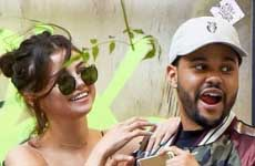 Selena Gomez y The Weeknd planeando boda?