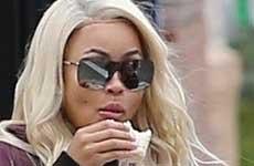 Blac Chyna y Rob preparándose para batalla por la custodia?