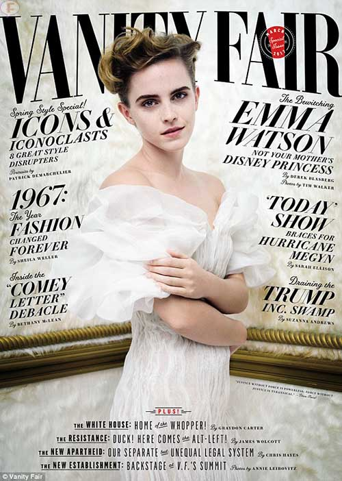 Emma Watson no selfies con fans - Hipócrita? (Vanity Fair)