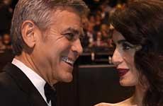 George Clooney habla de los nombres de sus gemelos! LOL!