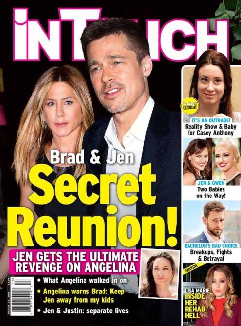 Brad & Jen: Reunión Secreta 2017 LOL! (InTouch)