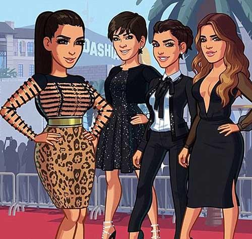 Kim Kardashian quiere otro hijo! Serie animada?