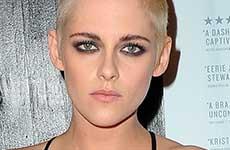 El nuevo look de Kristen Stewart – Rapada y rubia platinada!