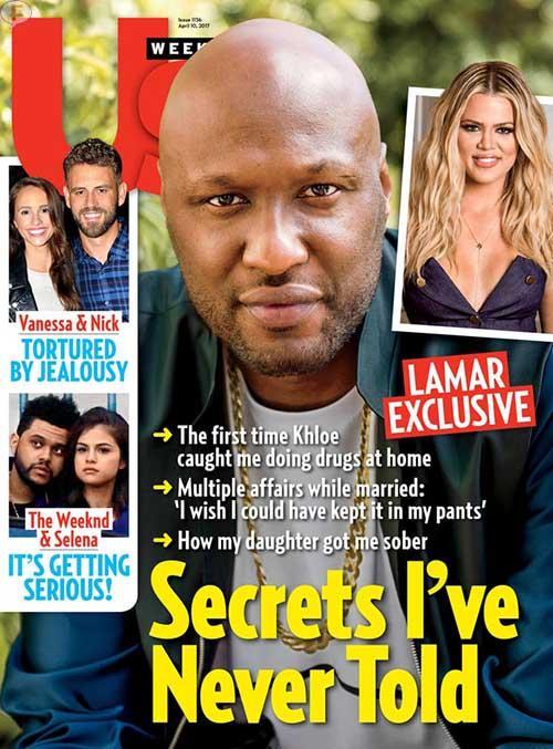Lamar Odom habla de la noche en el prostibulo y de Khloe (Us Weekly)