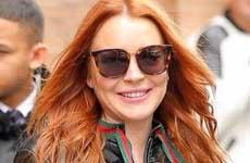 Lindsay Lohan lanza nueva linea de modas, Bufandas?