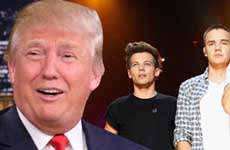Trump botó a One Direction de su hotel