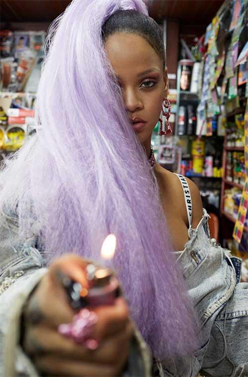 Rihanna para Paper magazine Rock Spiky!