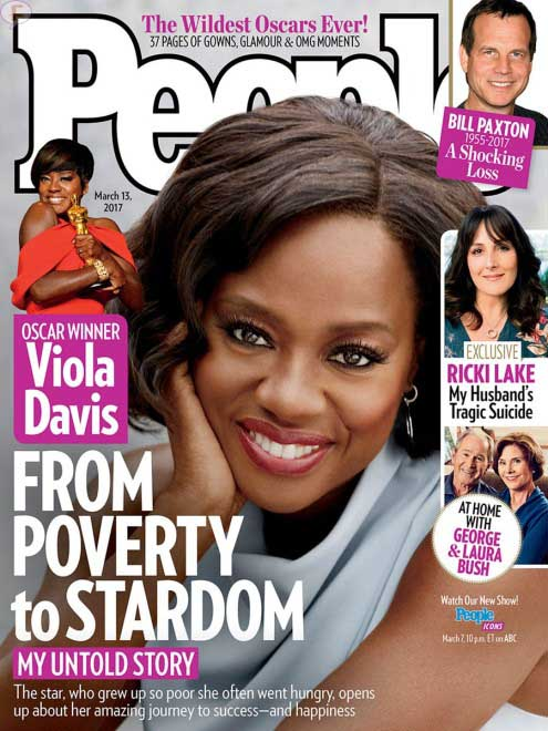 Viola Davis: su niñez y como superó la pobreza (People)
