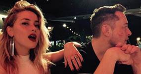Amber Heard y Elon Musk son pareja! Hacen oficial su relación!