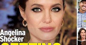 Angelina Jolie se casa! (InTouch)