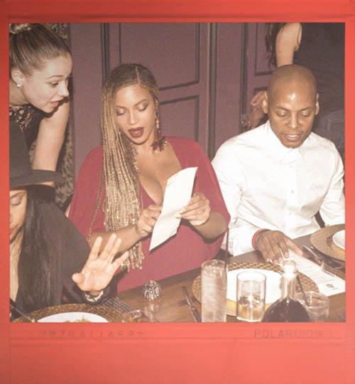 Memes de Beyoncé en la cena
