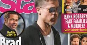 Brad Pitt anoréxico!! Se niega a comer! (Star) LOL!