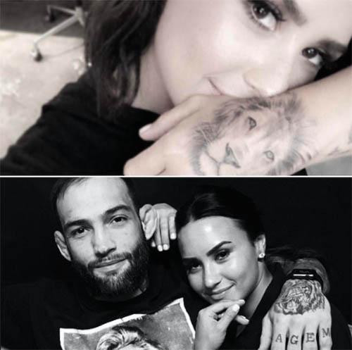Demi Lovato debuta tatuaje! La critican por Té para adelgazar!