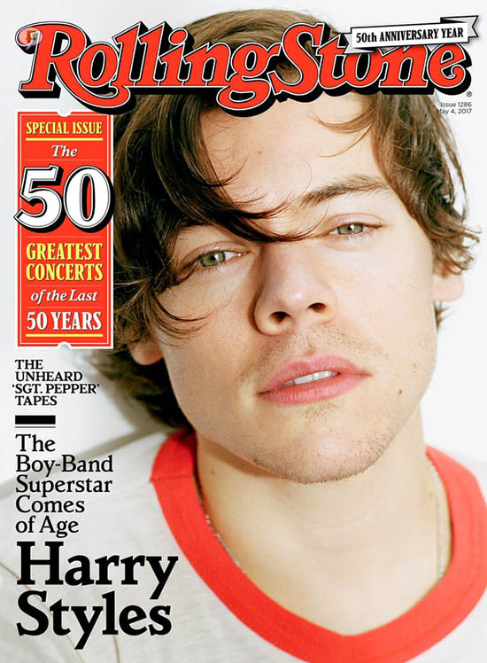 Harry Styles habla de Taylor Swift (RollingStone)