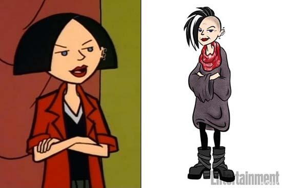 Vean a Daria 20 años después! La la la la laaaa!!