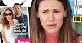 Jennifer Garner embarazada y sola (OK!)