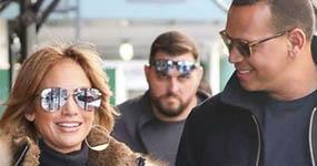 Aww Jennifer Lopez habla del nick de ella y Alex Rodriguez, «J-Rod»