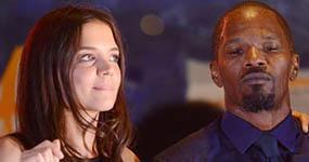 Katie Holmes y Jamie Foxx hacen pública su relación
