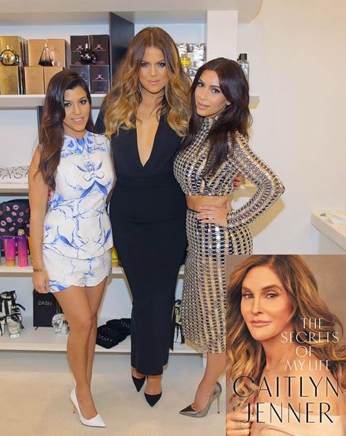 Las Kardashians molestas con Caitlyn Jenner por su nuevo libro