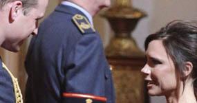 Victoria Beckham recibe Orden del Imperio Británico (OBE)