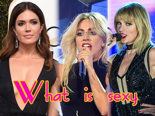 Victoria's Secret le dice a la gente lo que es sexy - What is sexy List!